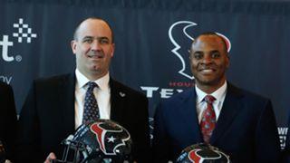 Bill O'Brien (left) and Rick Smith (right)
