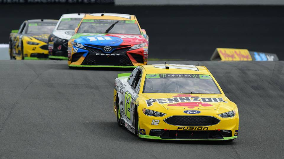 NASCAR results at Charlotte: Ryan Blaney wins in crazy finish on 'Roval' course