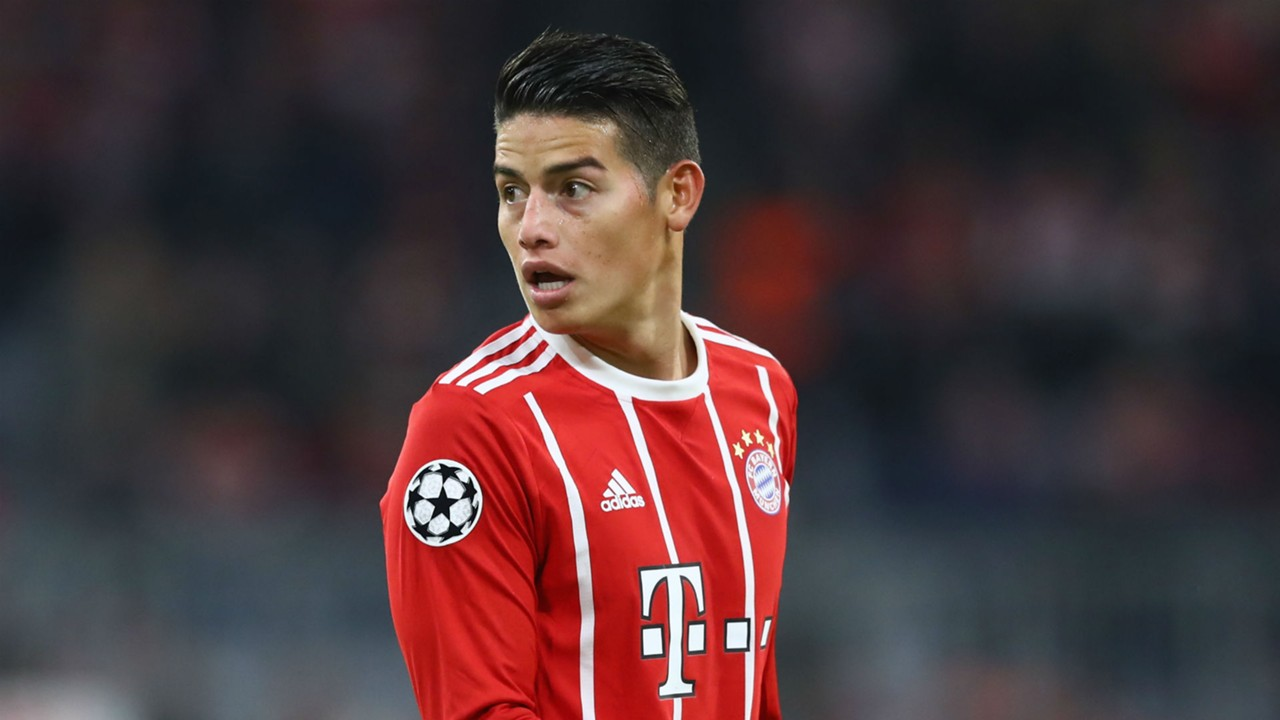 James Rodriguez determined to keep improving at Bayern