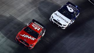Daniel Suarez (41) and Ryan Newman (6) will be racing for a final spot at Indianapolis this weekend.