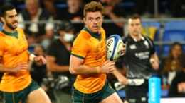 Andrew Kellaway scored a hat-trick for Australia against Argentina