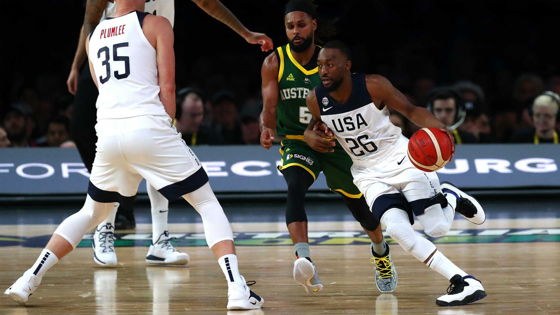 FIBA World Cup 2019: Team USA tops Australia in exhibition before 50,000 in Melbourne