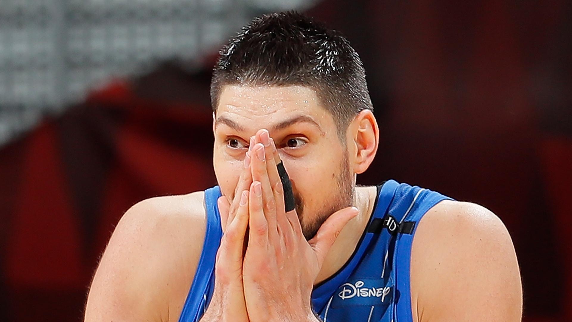 Magic's Nikola Vucevic out indefinitely with hand injury