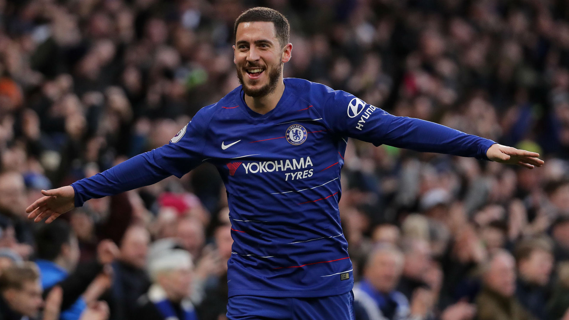 Sarri wants Hazard to be 'happy' in next career move