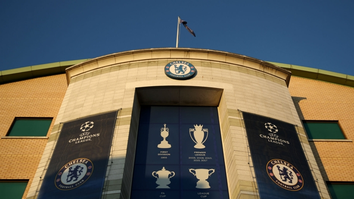 A view of Chelsea's Stamford Bridge home