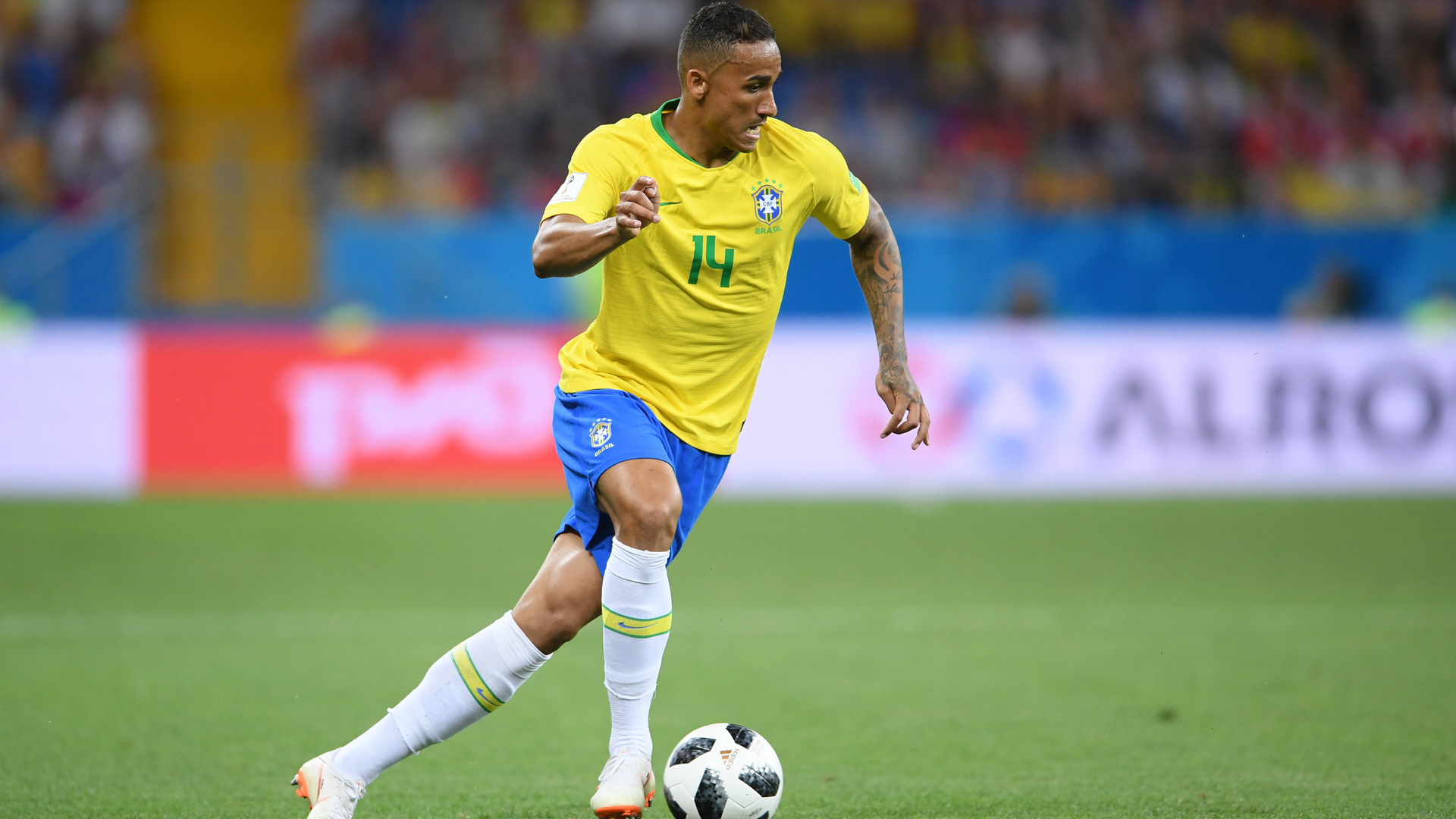 Image result for Brazil's Danilo ruled out of World Cup with ankle problem