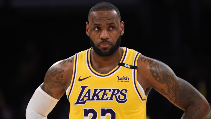 Los Angeles Lakers superstar LeBron James