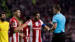 Atletico Madrid were left frustrated by refereeing decisions in their Champions League loss against Liverpool on Tuesday