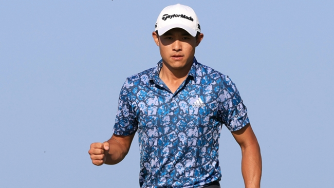 Collin Morikawa landed the Open Championship at Sandwich yesterday