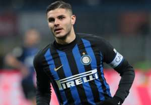 Inter captain and striker Mauro Icardi