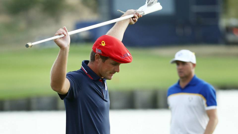 Bryson DeChambeau plans to leave flagstick in for putts in 2019