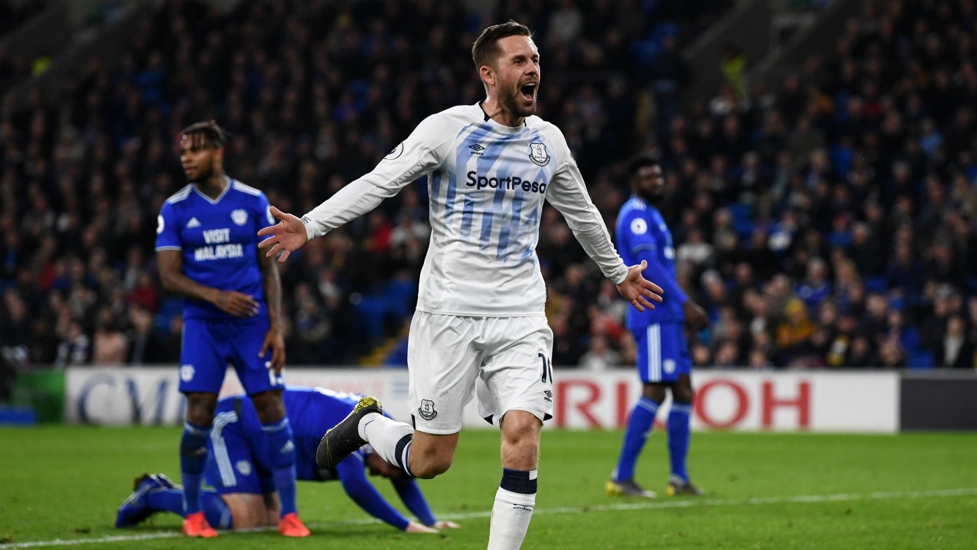 Everton's Gylfi Sigurdsson stamps his class on Cardiff City