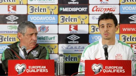 Fernando Santos and Bernardo Silva- cropped