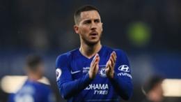 Former Chelsea man Eden Hazard