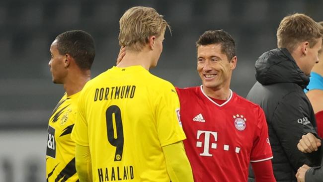 Erling Haaland won the Bundesliga Player of the Season award