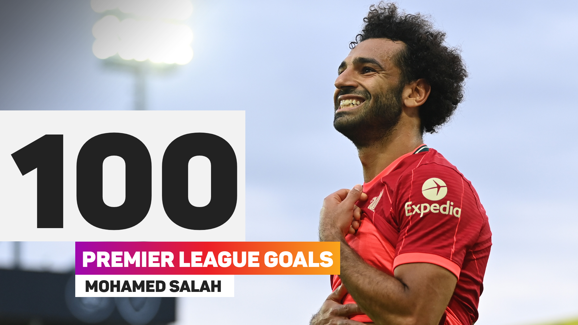 Mohamed Salah 100 Premier League goals