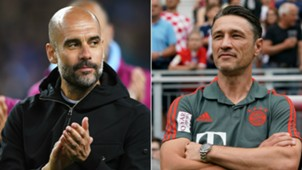 Pep Guardiola and Niko Kovac - cropped