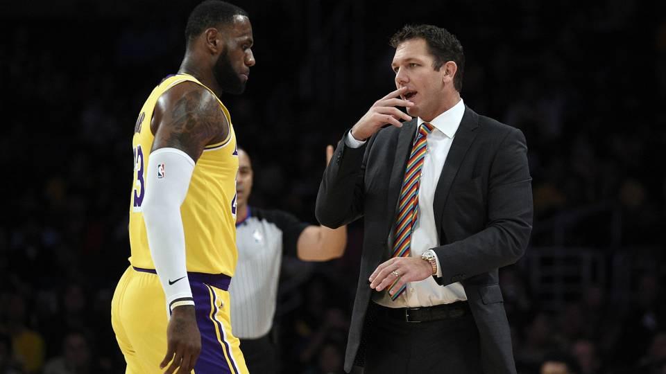 Lakers coach Luke Walton on his job security: 'I don't feel like I am going anywhere'