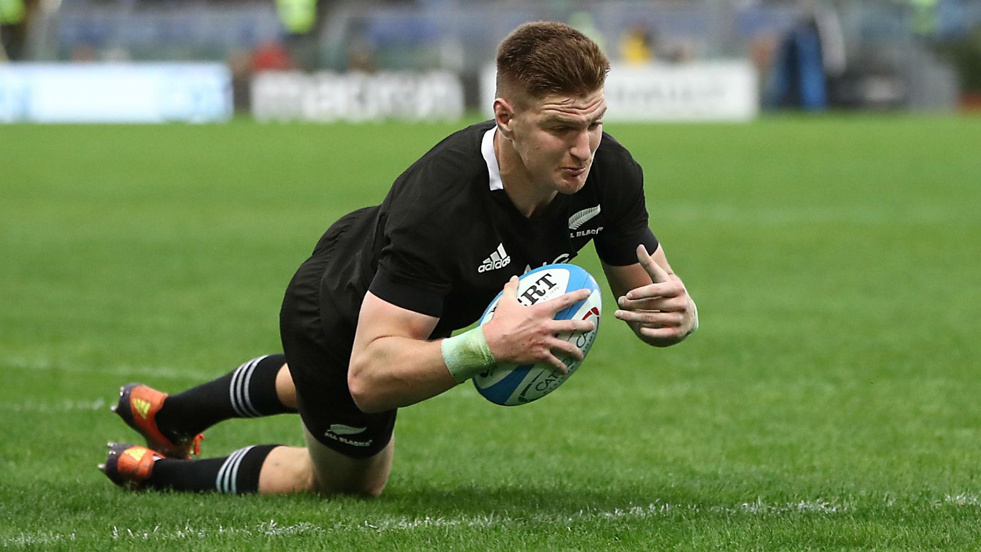 All Blacks demolish Italy after Jordie Barrett's four-try haul