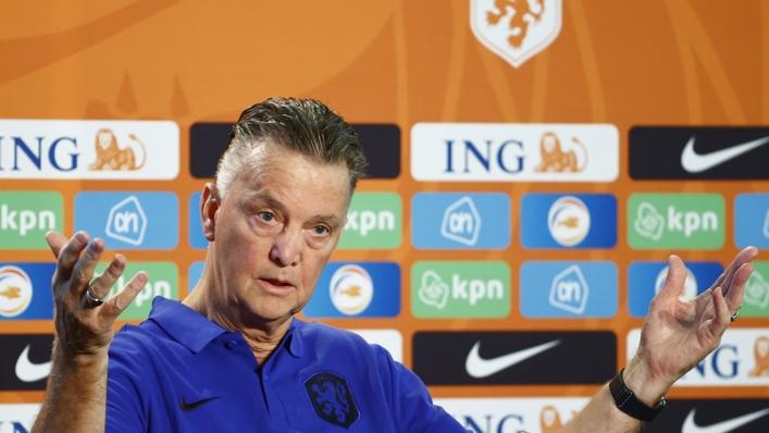 Netherlands head coach Louis van Gaal