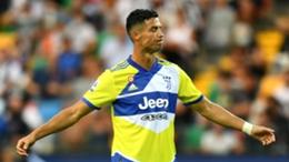 Juventus forward Cristiano Ronaldo was denied glory at the death