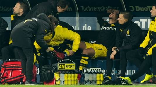 Dortmund's Sancho out for 'several weeks' with ankle injury
