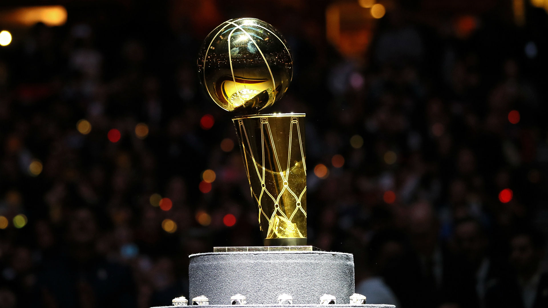 Who will lift the Larry O'Brien Trophy at the end of the season?