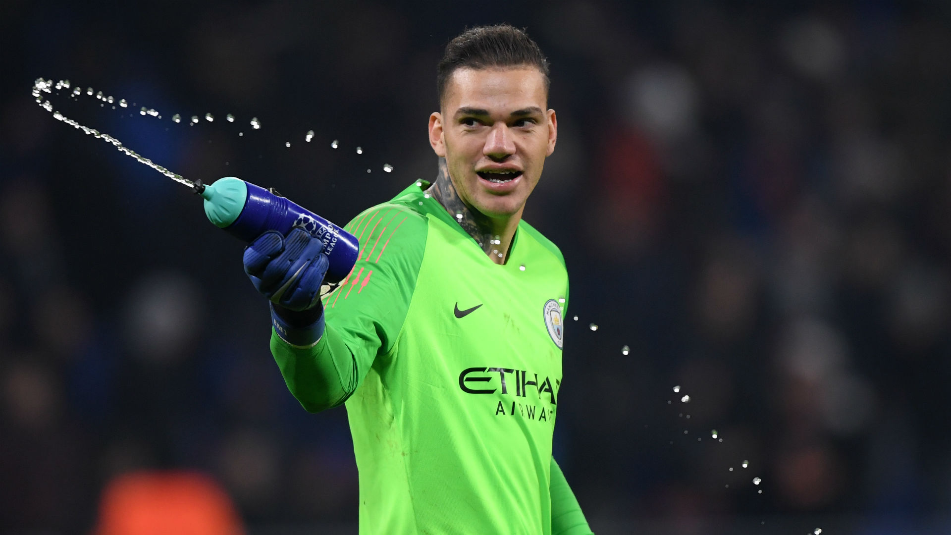 Manchester City goalkeeper Ederson denies supporting Tommy Robinson following photo