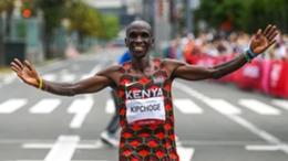 Eliud Kipchoge won men's marathon gold for Kenya