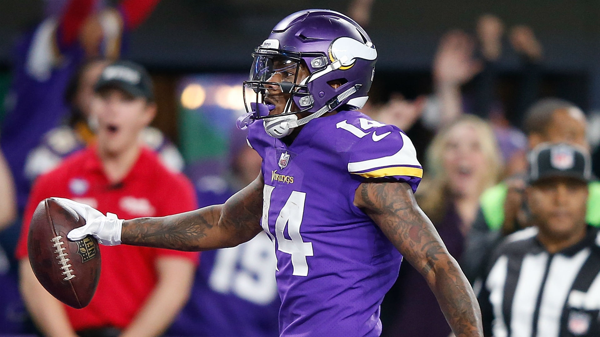 Stefon Diggs has not been dealt to 'Skins, report says ...