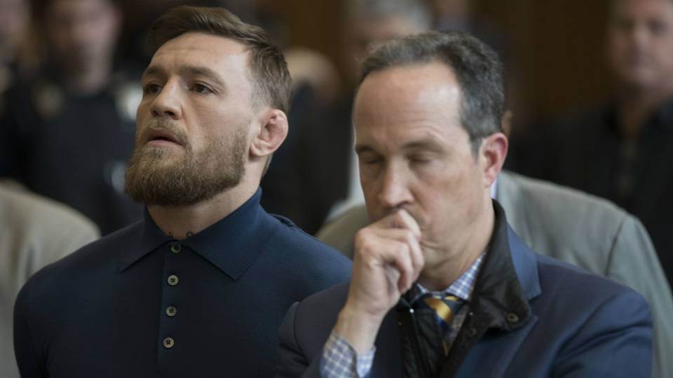 Conor McGregor court appearance: MMA star in plea negotiations following bus melee