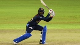 Dhananjaya de Silva scored an unbeaten 40 for Sri Lanka