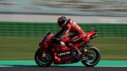 Francesco Bagnaia took pole for the San Marino Grand Prix