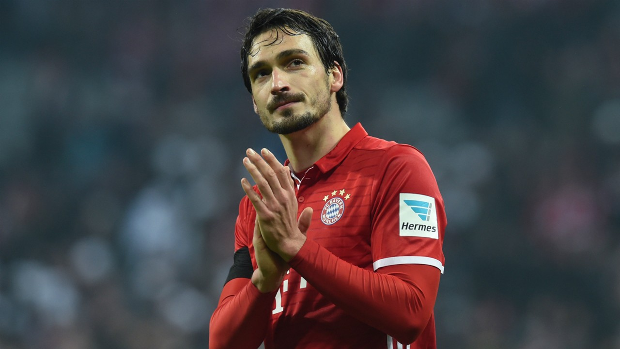 Bayern Munich Mats Hummels out of Real Madrid clash