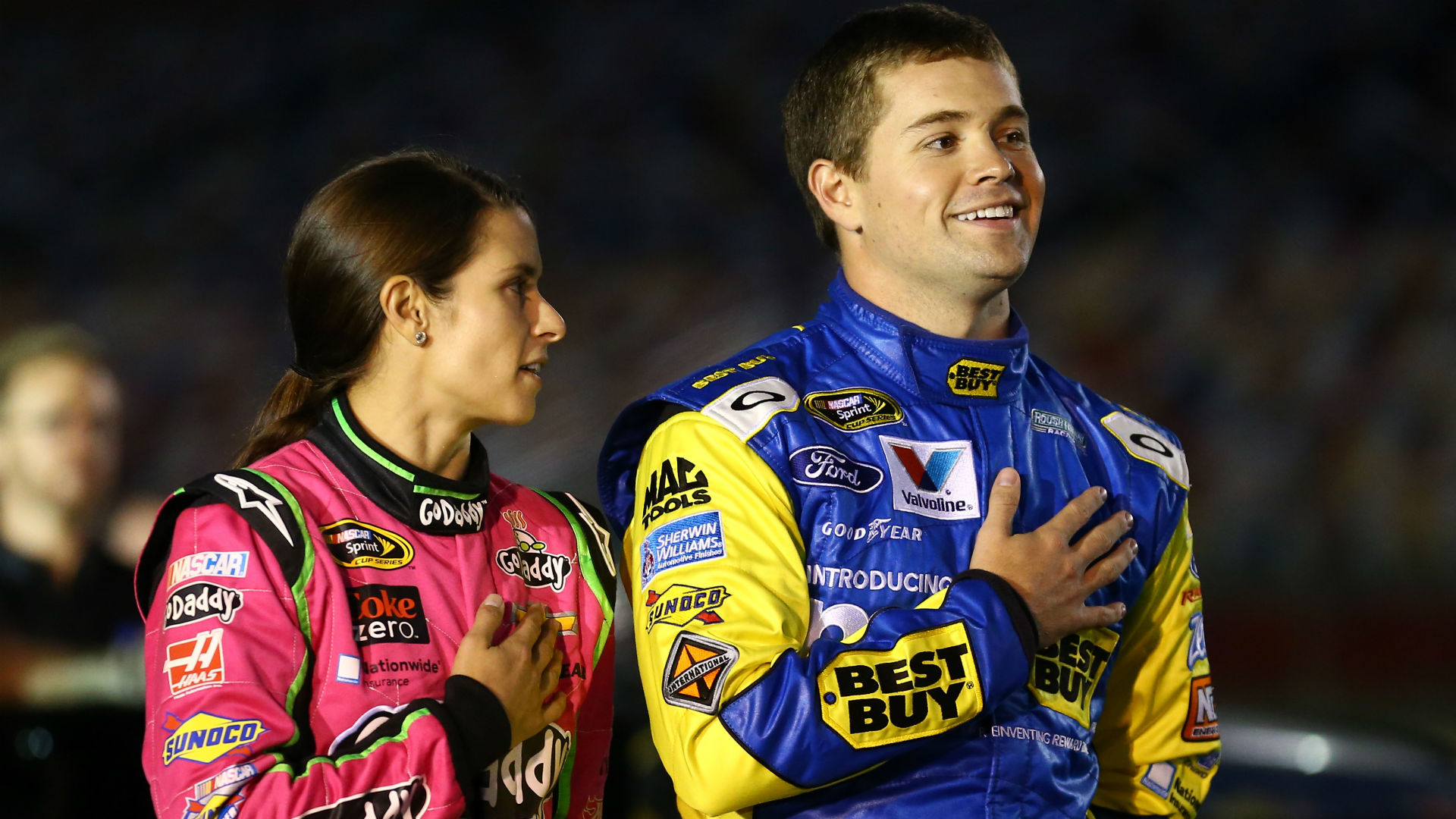 Ricky Stenhouse Jr. talks sexism in NASCAR, the national anthem, playoffs and more