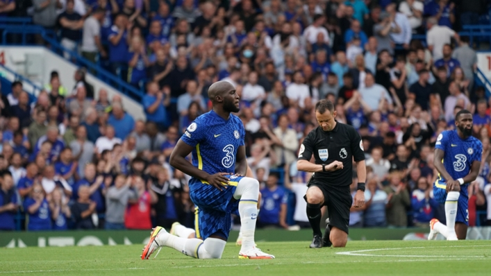 Romelu Lukaku has questioned the continued effectiveness of taking the knee