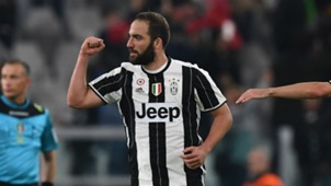 Juventus striker Gonzalo Higuain