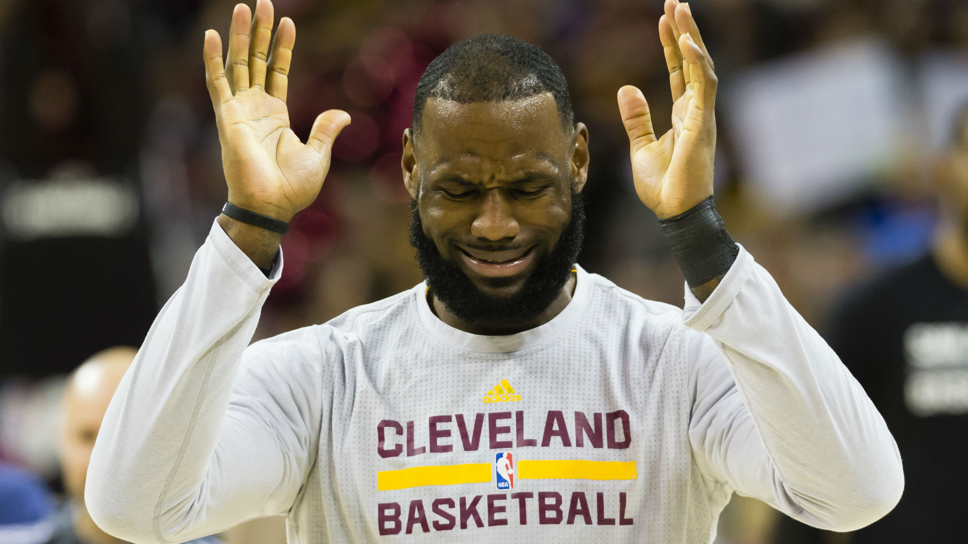 38d897819a1 LeBron James has a message for LaVar Ball   Keep my kids  names out of your  mouth