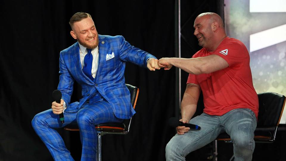 Dana White, Conor McGregor to talk Khabib Nurmagomedov title bout, UFC chief says