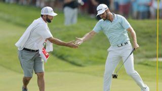Matthew Wolff celebrates first PGA Tour win
