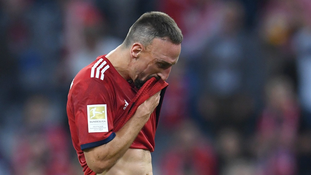 'What I did was wrong' - Ribery apologises for reporter altercation after Klassiker defeat