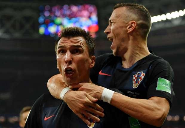 Croatia stars Mario Mandzukic and Ivan Perisic
