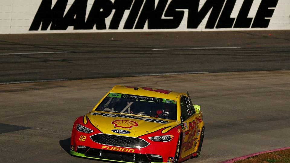 NASCAR results at Martinsville: Joey Logano bumps and slides past Martin Truex Jr. in thrilling finish