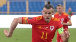 Real Madrid star Gareth Bale hit a hat-trick for Wales