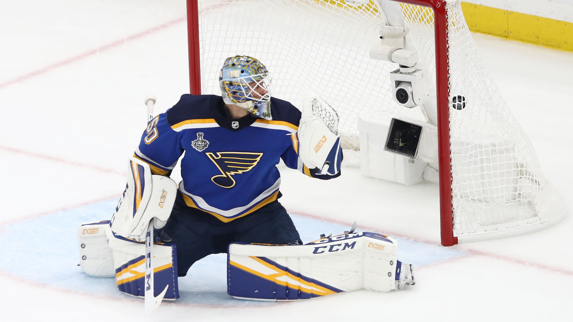 Blues reward Jordan Binnington with 2-year deal after Stanley Cup win