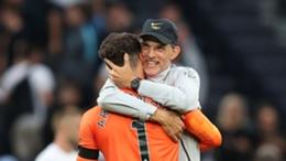 Kepa Arrizabalaga kept a clean sheet against Tottenham last week