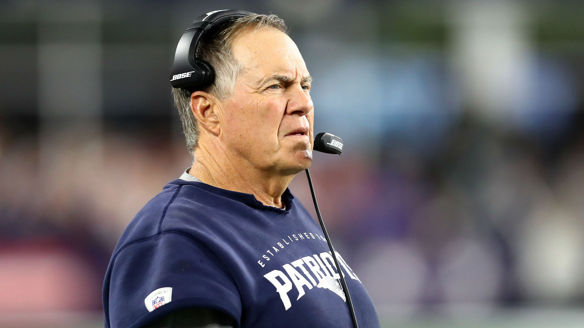 Patriots' Bill Belichick shuts down Antonio Brown questions