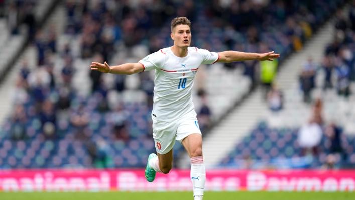 Euro 2020 star Patrik Schik was in fine form on Matchday 2