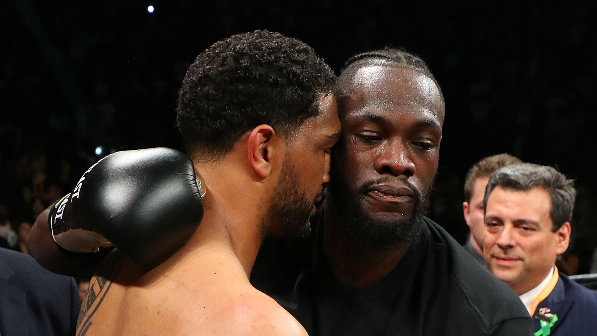 Dominic Breazeale feels referee stopped Deontay Wilder fight too early