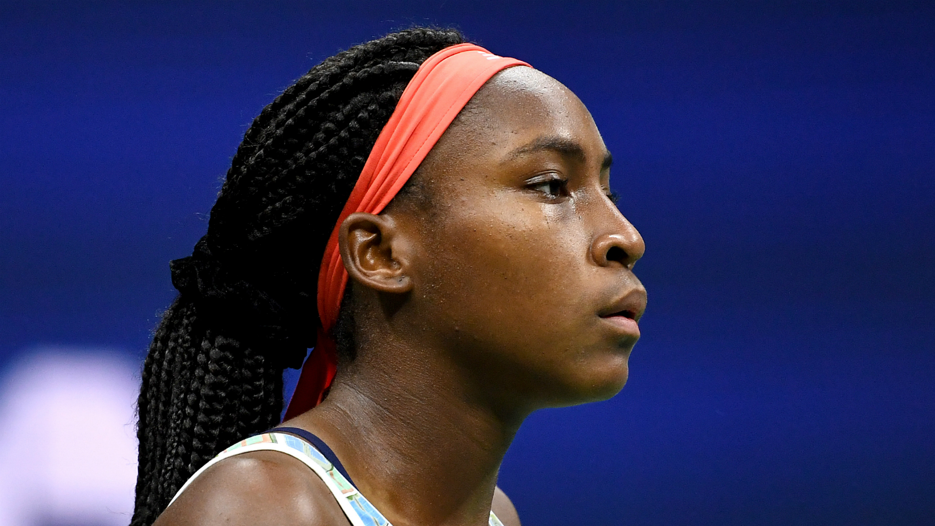 First-time finalist Coco Gauff: I showed I can play at a top level